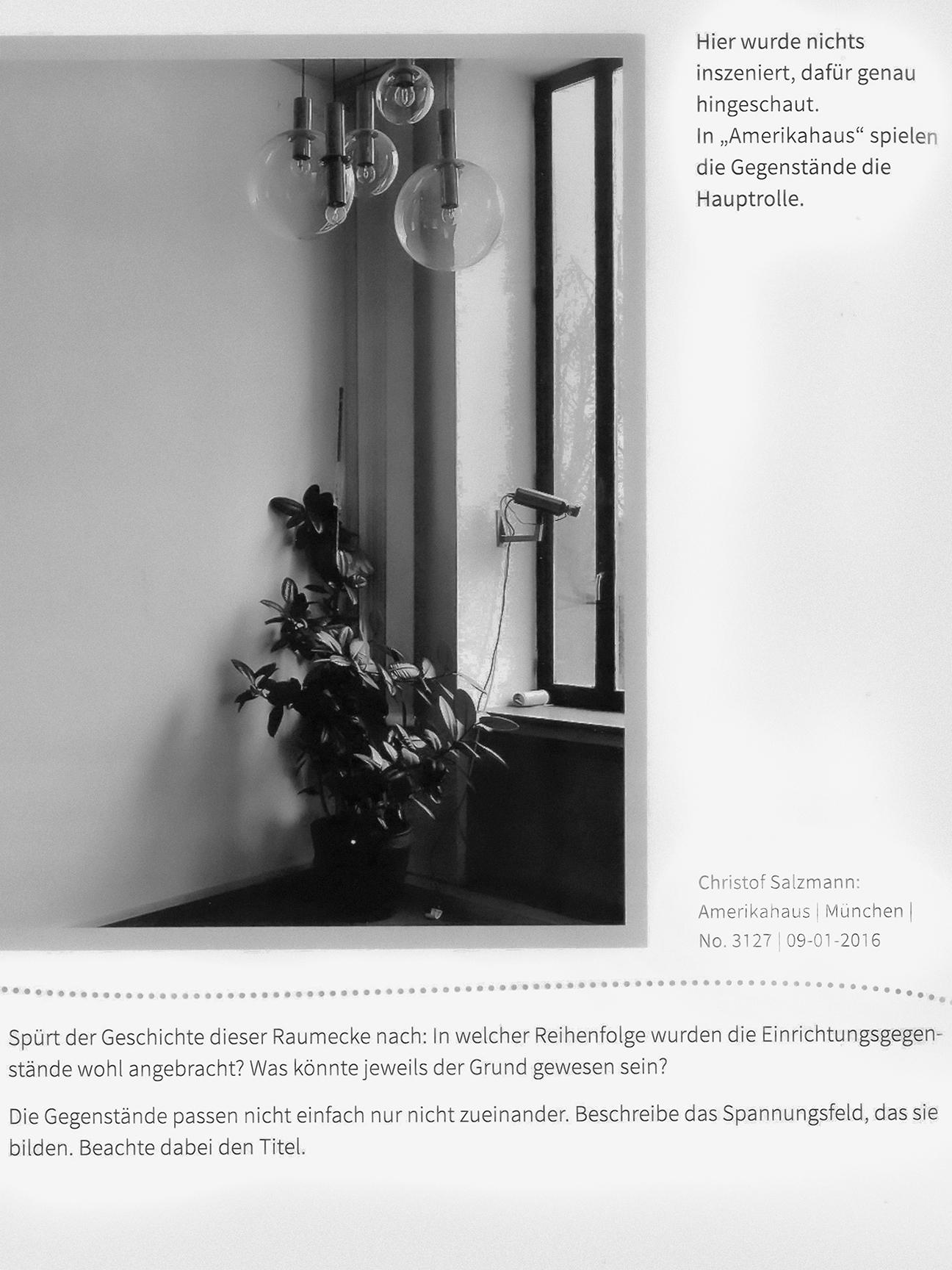 Kunstbuch 3   Amerikahaus, München, No. 3127   Verlag: Westermann Gruppe, S. 80.