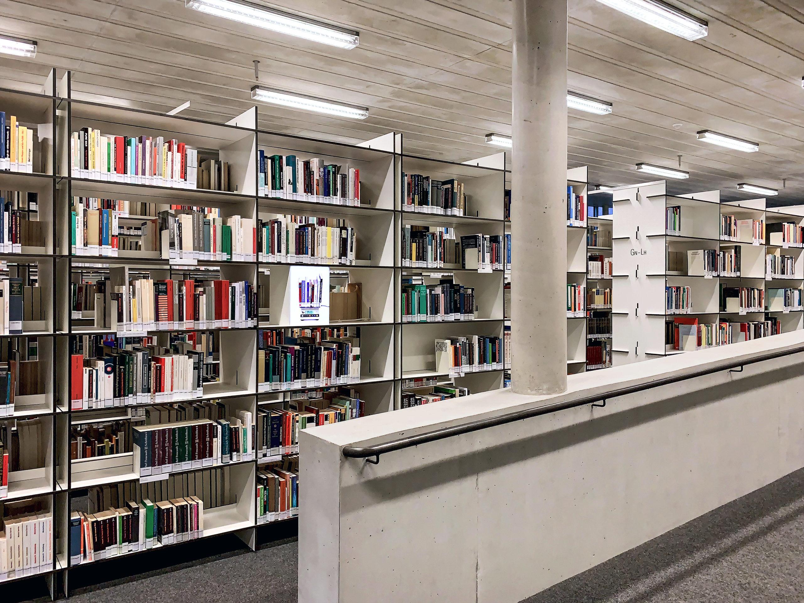 Intertext | Kunst am Bau | Bibliothek der Zeppelin Universität, Friedrichshafen
